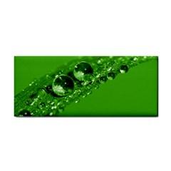 Green Drops Hand Towel