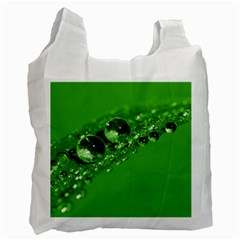Green Drops Recycle Bag (one Side)