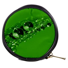 Green Drops Mini Makeup Case
