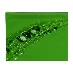 Green Drops Cosmetic Bag (xl)