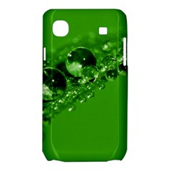 Green Drops Samsung Galaxy SL i9003 Hardshell Case