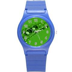 Green Drops Plastic Sport Watch (Small)