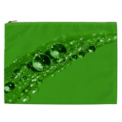 Green Drops Cosmetic Bag (XXL)