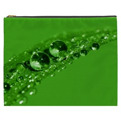 Green Drops Cosmetic Bag (xxxl)