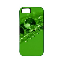 Green Drops Apple iPhone 5 Classic Hardshell Case (PC+Silicone)