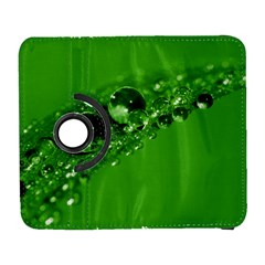 Green Drops Samsung Galaxy S  Iii Flip 360 Case