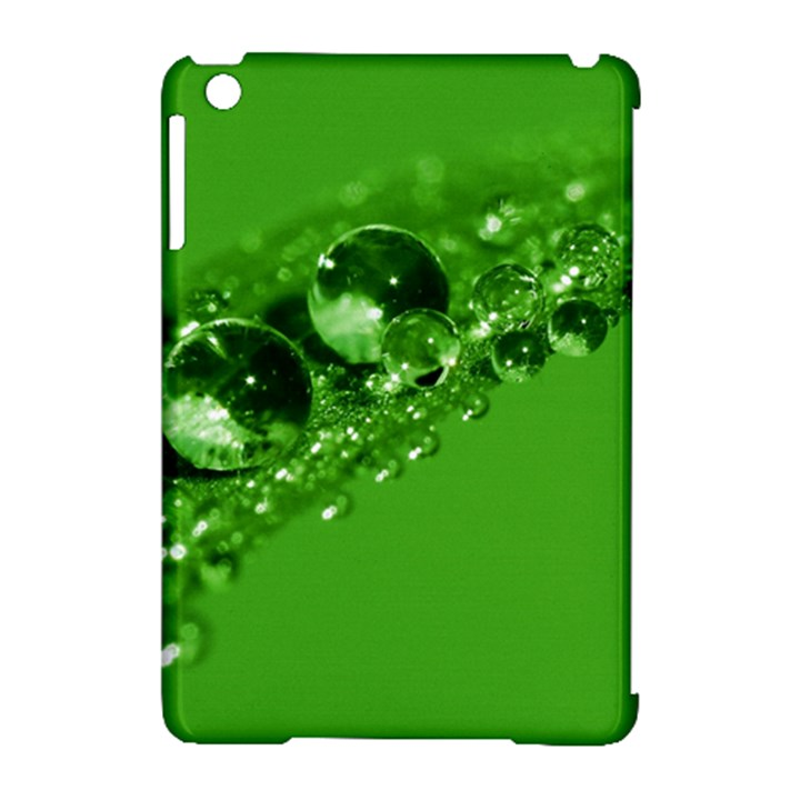 Green Drops Apple iPad Mini Hardshell Case (Compatible with Smart Cover)