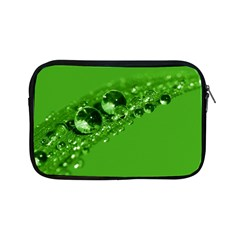 Green Drops Apple iPad Mini Zipper Case