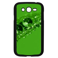 Green Drops Samsung Galaxy Grand DUOS I9082 Case (Black)