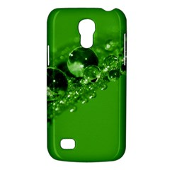 Green Drops Samsung Galaxy S4 Mini Hardshell Case