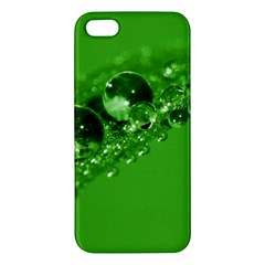 Green Drops Iphone 5s Premium Hardshell Case