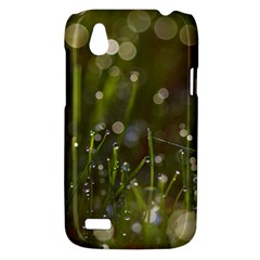 Waterdrops HTC T328W (Desire V) Case