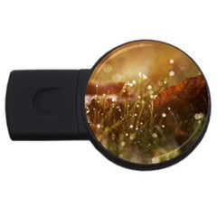 Waterdrops 4GB USB Flash Drive (Round)