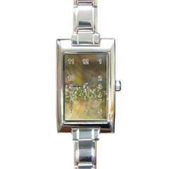 Sundrops Rectangular Italian Charm Watch