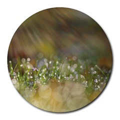 Sundrops 8  Mouse Pad (round)