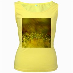 Sundrops Womens  Tank Top (yellow)