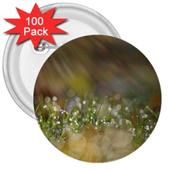 Sundrops 3  Button (100 Pack)
