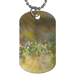 Sundrops Dog Tag (one Sided)