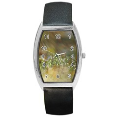 Sundrops Tonneau Leather Watch