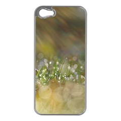 Sundrops Apple iPhone 5 Case (Silver)