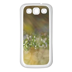 Sundrops Samsung Galaxy S3 Back Case (White)