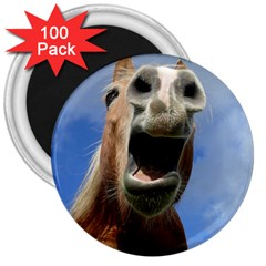 Haflinger  3  Button Magnet (100 pack)
