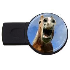 Haflinger  4GB USB Flash Drive (Round)