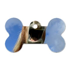 Haflinger  Dog Tag Bone (one Sided)