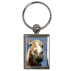Haflinger  Key Chain (rectangle)