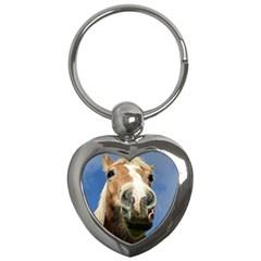 Haflinger  Key Chain (Heart)