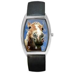 Haflinger  Tonneau Leather Watch