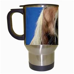 Haflinger  Travel Mug (white)