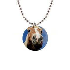 Haflinger  Button Necklace