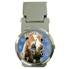 Haflinger  Money Clip With Watch