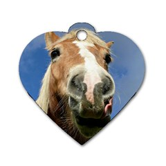 Haflinger  Dog Tag Heart (Two Sided)