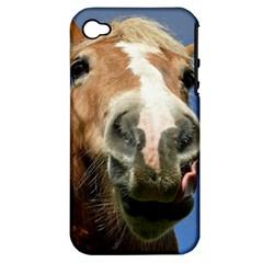 Haflinger  Apple iPhone 4/4S Hardshell Case (PC+Silicone)