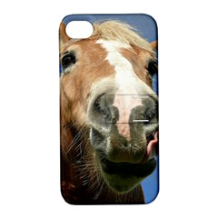 Haflinger  Apple Iphone 4/4s Hardshell Case With Stand