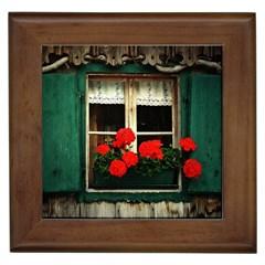 Window Framed Ceramic Tile