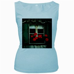 Window Womens  Tank Top (Baby Blue)