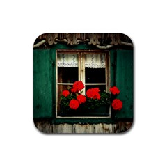 Window Drink Coasters 4 Pack (Square)