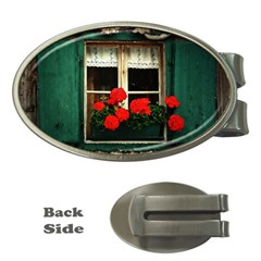 Window Money Clip (Oval)