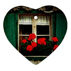 Window Heart Ornament (Two Sides)