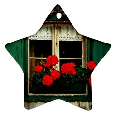 Window Star Ornament (Two Sides)