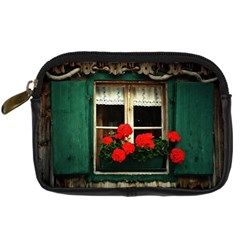 Window Digital Camera Leather Case