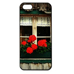 Window Apple iPhone 5 Seamless Case (Black)