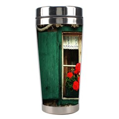 Window Stainless Steel Travel Tumbler