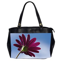 Daisy Oversize Office Handbag (Two Sides)
