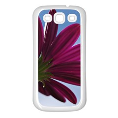 Daisy Samsung Galaxy S3 Back Case (White)