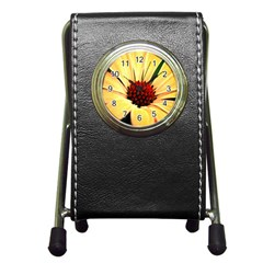 Osterspermum Stationery Holder Clock