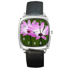Osterspermum Square Leather Watch